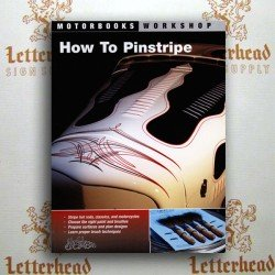how to pinstripe: alan johnson pinstriping master book
