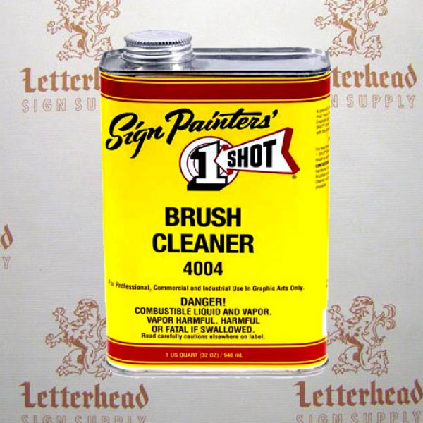 1 shot brush cleaner 4004 quart