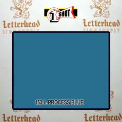 1 Shot Lettering Enamel Paint Process Blue 153L - 1/2 Pint