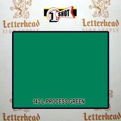 1 Shot Lettering Enamel Paint Process Green 143L - 1/2 Pint