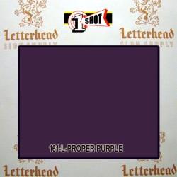 1 Shot Lettering Enamel Paint Proper Purple 161L - 1/2 Pint