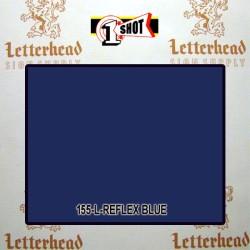 1 Shot Lettering Enamel Paint Reflex Blue 155L - 1/2 Pint