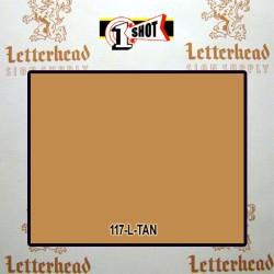 1 Shot Lettering Enamel Paint Tan 117L - 1/2 Pint