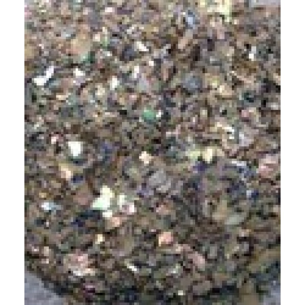 Paua Abalone Crushed (Brocade) Flakes for Inlay - 1/2 lb