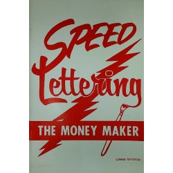 80's Speed Lettering Money Maker - Book