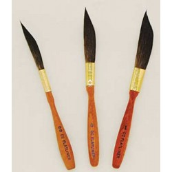 series 1310 DC Flat liner Pinstriping Brushes