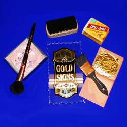Gold Leaf Brushes