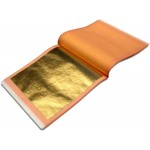 Gold-Leaf-23.5kt Dukaten-Orange Patent-Book
