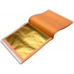 Manetti 23.75kt-Rosenoble Double Gold-Leaf Patent-Book