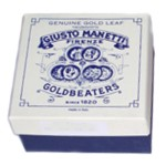 Manetti 10kt-White-Platinum Gold-Leaf Patent-Book