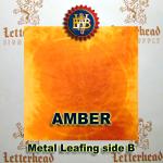 Variegated Metal Leaf-Amber Leafing