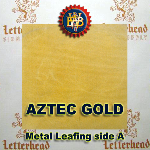 Variegated Metal Leaf-Aztec Leafing 20 Book Pack