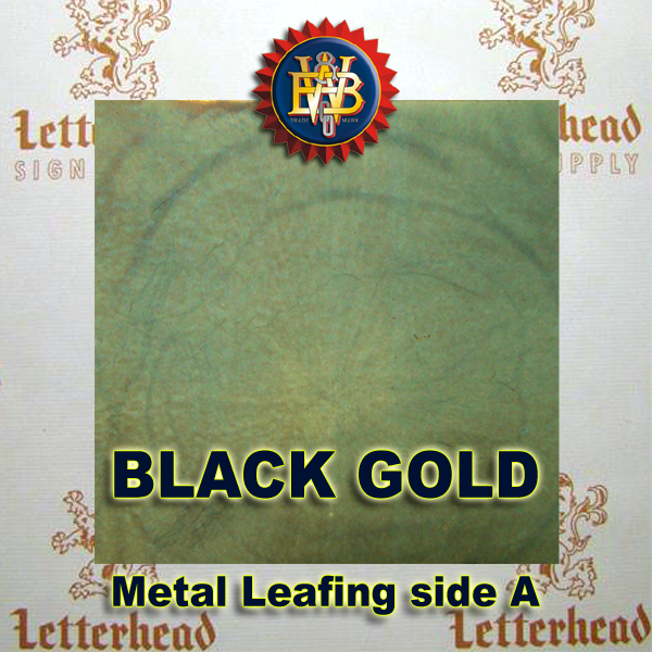 Variegated Metal Leaf-Black Gold 1 book