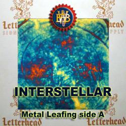 Interstellar Variegated Metal Leaf