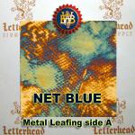 Variegated Metal Leaf-Net Blue 20 Book Pack