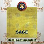 Variegated Metal Leaf-Sage book