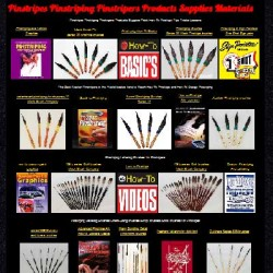 Pinstripes Pinstriping Pinstripers Products Supplies Materials Big Display